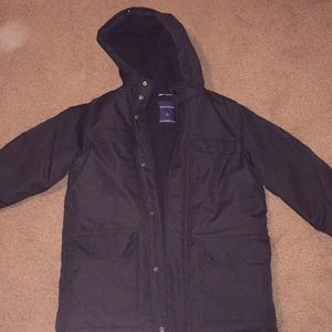 Nautica black insulated jacket size medium 10/12